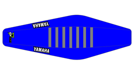 Factory Sitzbankbezug Yamaha Blue Top - Blue Sides - Grey Ribs