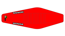 Factory Sitzbankbezug Honda Red Top - Red Sides - Red Ribs