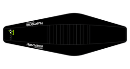 Factory Sitzbankbezug Husqvarna Black Top - Black Sides - Black Ribs
