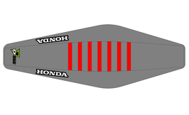 Factory Sitzbankbezug Honda Grey Top - Grey Sides - Red Ribs