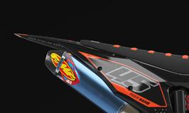 Numberplates Factory KTM Alpha Orange Limited Edition mit eurer eigenen Startnummer