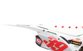 Numberplates Factory Honda Oace White Limited Edition mit eurer eigenen Startnummer