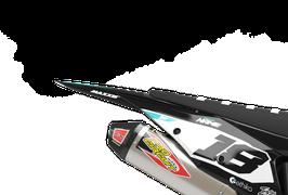 Numberplates Factory KTM Burnout Teal Limited Edition mit eurer eigenen Startnummer