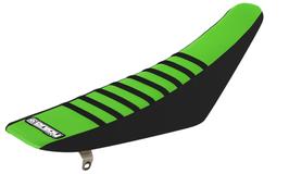 Sitzbankbezug Kawasaki Green Top - Black Sides - Black Ribs