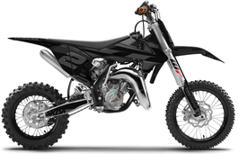 Dekor mit Numberplates KTM SX50 - SX65 Black Limited Edition