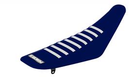 Sitzbankbezug Husqvarna Blue Top - Blue Sides - White Ribs