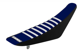 Sitzbankbezug Husqvarna Blue Top - Black Sides - White Ribs