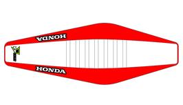 Factory Sitzbankbezug Honda White Top - Red Sides - White Ribs