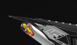 Numberplates Factory KTM Alpha Grey Limited Edition mit eurer eigenen Startnummer