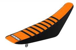 Sitzbankbezug KTM Orange Top - Black Sides - Black Ribs