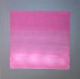 Margit Anglmaier: Pink meets Gray zum Quadrat