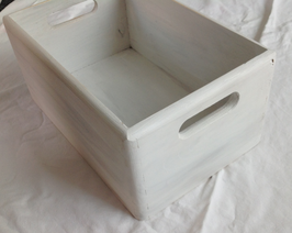 Box Shabby Chic White 1