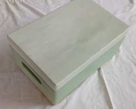 Margit Anglmaier: Box Shabby Chic Green