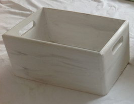 Margit Anglmaier: Box Shabby Chic White 2