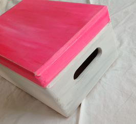 Margit Anglmaier: Box Shabby Chic Pink