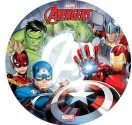 """Tortenaufleger """"Avengers"""" 20cm"""