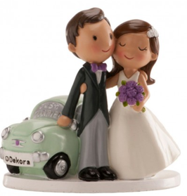 "Hochzeitspaar ""Just Married Car"""
