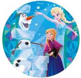 "Tortenaufleger ""Frozen"" 20cm"