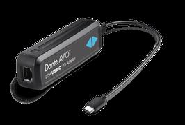 DANTE AVIOアダプター USB-C  I/O (入力2ch/出力2ch)