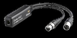 DANTE AVIOアダプター AES3 I/O (入力2ch/出力2ch)