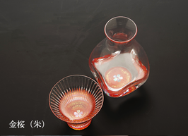☆ RADEN glass Sake set