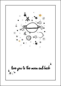 XMAS Card To The Moon And Back