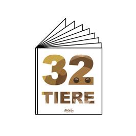32 TIERE- Bilderbuch
