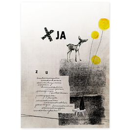 Postkarte Ja
