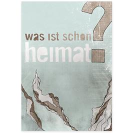 Postkarte Heimatfrage