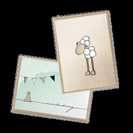 Minikartenset Einladung