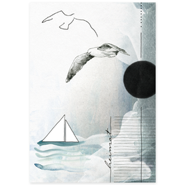 Postkarte Heimat