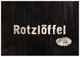 Postkarte Rotzlöffel