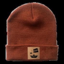 Moin Mütze 1.0 Rostrot