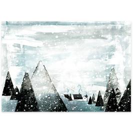 Postkarte Winterwunderland