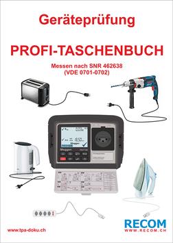 Geräteprüfung Profi-Taschenbuch PAT150