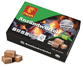 Anzünder Holz & Wachs Würfel
