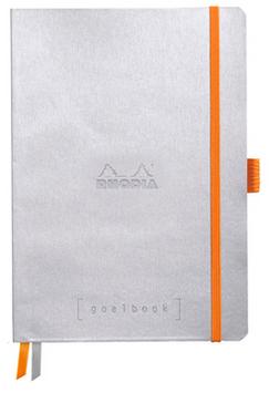 Rhodia Goalbook Argent