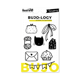 "Tampons transparents Bujo-Logy ""Lifestyle"" - Kesi Art"