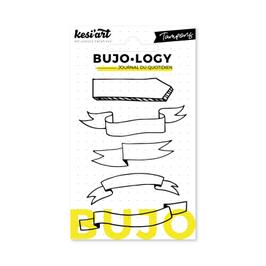 "Tampons transparents Bujo-Logy ""Banners"" - Kesi Art"