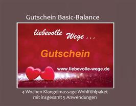 Gutschein Basic-Balance