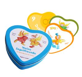 Engel-Kindersymbole 1-21 Herzform