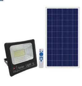 Прожектор на солнечных батареях. LS 200 Вт-Kindom2