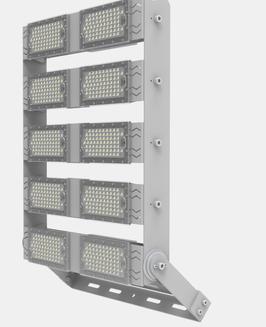 Светодиодный асимметричный прожектор LS- 500W-Com