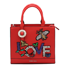 Borsa donna Denny Rose art 821ED99003 Autunno 2018/19 variante colore rosso