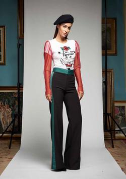 Pantalone nero donna Denny Rose art 721DD20020 Autunno Inverno 2017 2018
