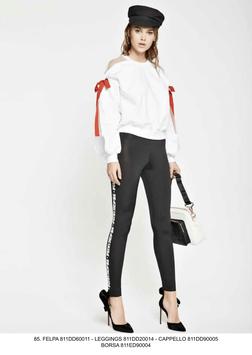 Felpa maglia manica lunga donna Denny Rose art 811DD60011 Primavera 2018