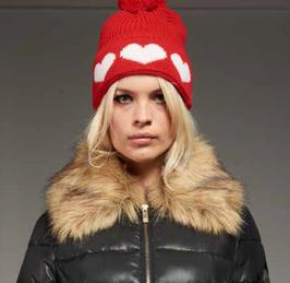Cappello rosso donna Denny Rose art 721DD90015 Autunno Inverno 2017 2018