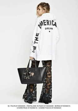 Pantalone donna Denny Rose art 811DD20008 Primavera 2018
