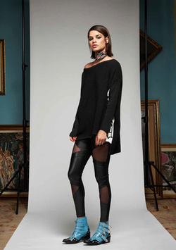Pantalone donna Denny Rose art 721DD20009 Autunno Inverno 2017 2018