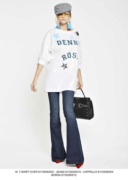 Jeans Pantalone donna Denny Rose art 811DD20019 Primavera 2018
